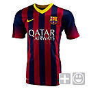 Nike Youth Barcelona Home Jersey 2013-2014