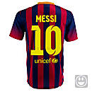 Nike Youth Barcelona Messi Home Jersey 2013-2014