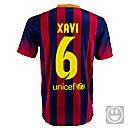 Nike Youth Barcelona Xavi Home Jersey 2013-2014