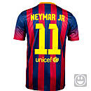 Nike Youth Barcelona Neymar Jr Home Jersey 2013-2014