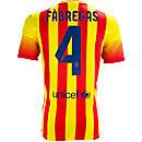 Nike Barcelona Fabregas Away Jersey 2013-2014