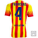 Nike Youth Barcelona Fabregas Away Jersey 2013-2014