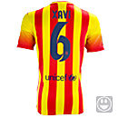 Nike Youth Barcelona Xavi Away Jersey 2013-2014