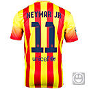 Nike Youth Barcelona Neymar Jr Away Jersey 2013-2014