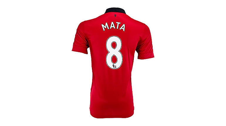 Nike Youth Manchester United Mata Home Jersey 2013-2014