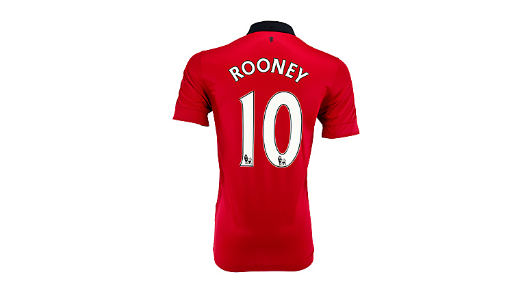 Nike Youth Manchester United Rooney Home Jersey 2013-2014
