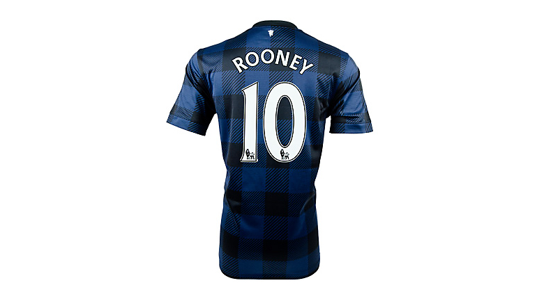Nike Manchester United Rooney Away Jersey 2013-2014