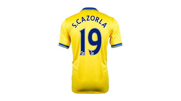 Nike Arsenal Cazorla Away Jersey 2013-2014