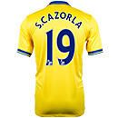 Nike Arsenal Cazorla Away Jersey 2013-2014