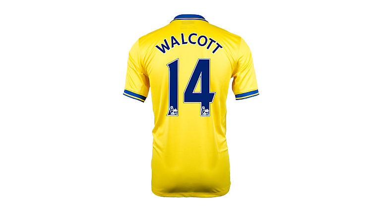 Nike Arsenal Walcott Away Jersey 2013-2014