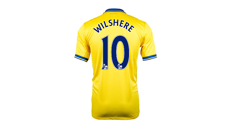 Nike Arsenal Wilshere Away Jersey 2013-2014