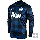Nike Manchester United Long Sleeve Away Jersey 2013-2014
