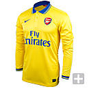 Nike Arsenal Long Sleeve Away Jersey 2013-2014