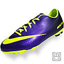 Nike Youth Mercurial Victory IV FG Cleats  Electro Purple with Volt