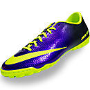 Nike Mercurial Victory IV Turf Soccer Shoes  Electro Purple with Volt