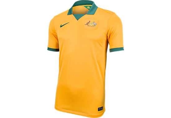 Nike Australia Home Jersey  World Cup 2014