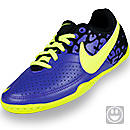 Nike Youth FC247 Elastico II Indoor Soccer Shoes Pure Purple and Volt