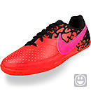 Nike Youth FC247 Elastico II Indoor Shoes  Total Crimson with Black