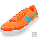 Nike Youth FC247 Davinho Indoor Soccer Shoes  Total Orange and Gamma Blue