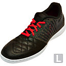 Nike Lunargato II Indoor Soccer Shoes - Black and Crimson