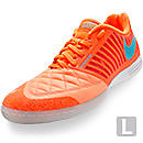 Nike FC247 Lunargato II Indoor Soccer Shoes  Atomic Orange and Blue
