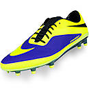 Nike Hypervenom Phatal FG Soccer Cleats  Electro Purple with Volt