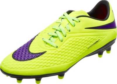 6e6e643b7 Nike Hypervenom Phelon FG Soccer Cleats - Volt ...