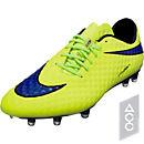 Nike Hypervenom Phantom FG Soccer Cleats - Volt and Hot Lava