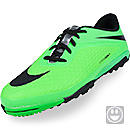 Nike Youth Hypervenom Phelon Turf Soccer Shoes  Neo Lime and Black