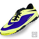 Nike Youth Hypervenom Phelon Turf Soccer Shoes  Electro Purple & Volt