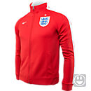 Nike Youth England N98 Authentic Track Top - Challenge Red