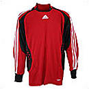 Adidas Trofeo Goalkeeper Jersey  Red with Black