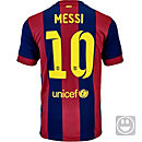 Nike Kids Messi Barcelona Home Jersey 2014-15