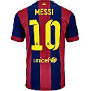 Nike Messi Barcelona Home Jersey 2014-15