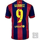 Nike Kids Suarez Barcelona Home Jersey 2014-15