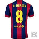 Nike Kids Iniesta Barcelona Home Jersey 2014-15