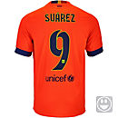 Nike Kids Suarez Barcelona Away Jersey 2014-15
