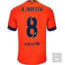 Nike Kids Iniesta Barcelona Away Jersey 2014-15