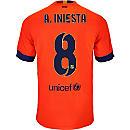Nike Iniesta Barcelona Away Jersey 2014-15
