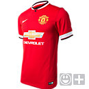 Nike Kids Manchester United Home Jersey 2014-2015