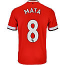 Nike Mata Manchester United Home Jersey 2014-15