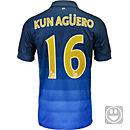 Nike Kids Aguero Manchester City Away Jersey 2014-15