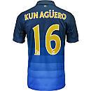 Nike Aguero Manchester City Away Jersey 2014-15