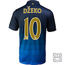 Nike Kids Dzeko Manchester City Away Jersey 2014-15