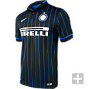 Nike Inter Milan 2014-15 Home Jersey - Black and Blue