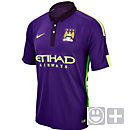 Nike Kids Manchester City 3rd Jersey 2014-15