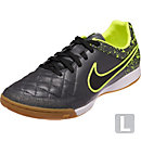 Nike Tiempo Legacy Indoor Soccer Shoes - Anthracite & Volt