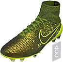 Nike Magista Obra FG - Dark Citron & Black