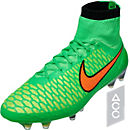Nike Magista Obra FG Soccer Cleats - Green and Orange