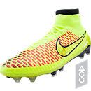 Nike Magista Obra FG Soccer Cleats - Volt